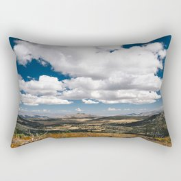 Clouds on the Valley Rectangular Pillow