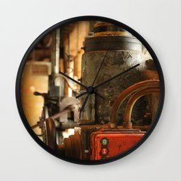 Heavy Industry - Old Machines Wall Clock