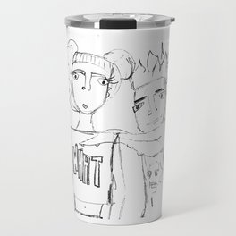 T and Eris - AND WHAT? Travel Mug