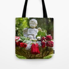 The roses remember Tote Bag