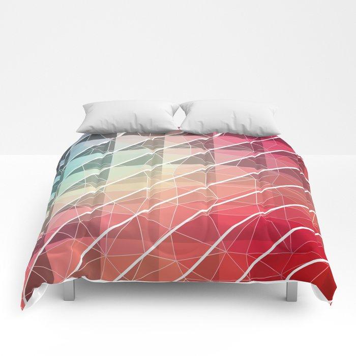 Abstract Geometric Design Comforters