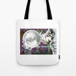 How We See Others, and Perhaps Ourselves Tote Bag