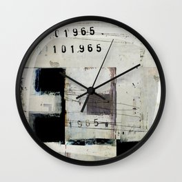 « graphique 1965 » Wall Clock