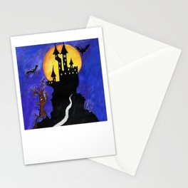 Haloween Castle Stationery Cards