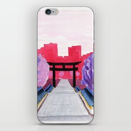 Japan Illustration iPhone Skin