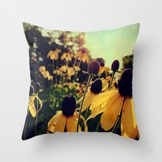 On the Edge of Summer Throw Pillow