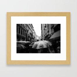 Vienna in Fall Framed Art Print