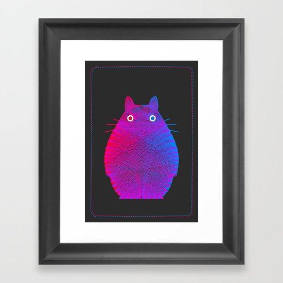My Neighbor Framed Art Print