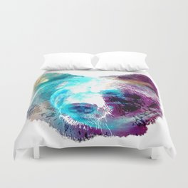 Space Bear Duvet Cover