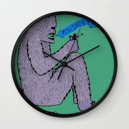 The King of Kongs Wall Clock