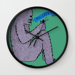 The King of Kongs Wall Clock