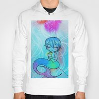 iwatobi Hoodies featuring Siren Haru by neko-productions