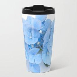 Blue Hydrangeas #1 #decor #art #society6 Travel Mug
