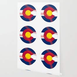Colorado Flag Baseball Wallpaper