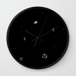 Sky Treasury #1 Wall Clock