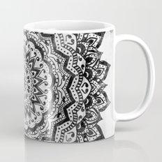 BLACK JEWEL MANDALA Coffee Mug