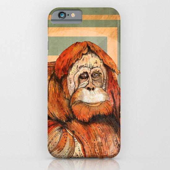 Mr. Orangutan iPhone & iPod Case