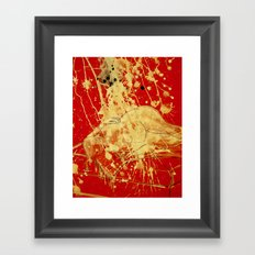 Casting Out Nines Framed Art Print
