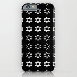 Star of David 44- Jerusalem -יְרוּשָׁלַיִם,israel,hebrew,judaism,jew,david,magen david iPhone Case