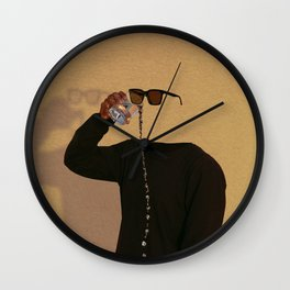 A Thirst That Can't Be Satisfied Wall Clock