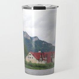 red schoolhouse Travel Mug