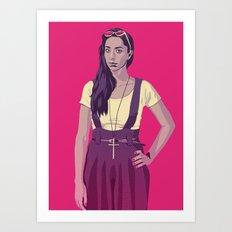 80/90s - Tls Art Print