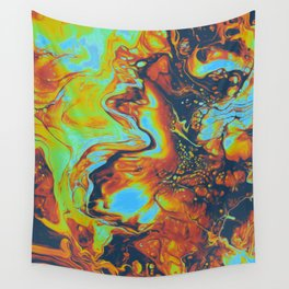 CANDLELIGHT EXCHANGES Wall Tapestry