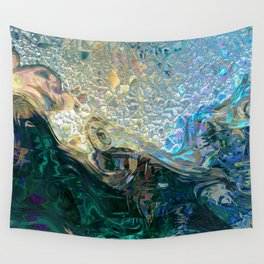 Sea Nymph Abstract Wall Tapestry