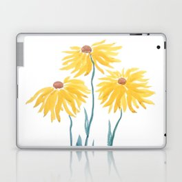 three yellow flowers Laptop & iPad Skin
