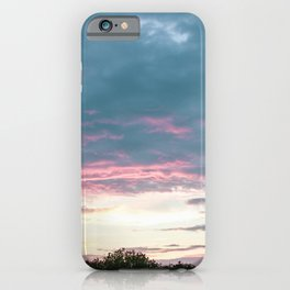 Cloudy August Evening III iPhone Case