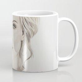Charlize Theron artwork portrait Coffee Mug