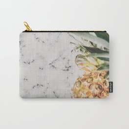 Pineapple Marble Carry-All Pouch