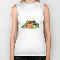 vegetables Biker Tanks featuring Vegetables together by Carlo Toffolo