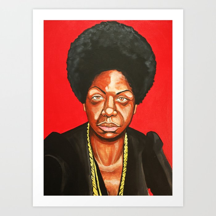 "Nina Simone ""Revolutionary"" Kunstdrucke"