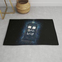 Bad Wolf TARDIS Rug