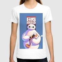 big hero 6 T-shirts featuring Baymax - Big Hero 6 by J Skipper