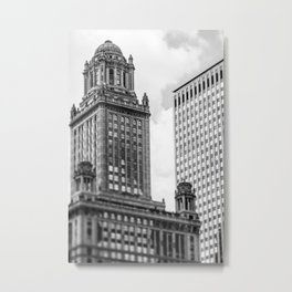 The Jewelers Building Metal Print