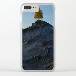 The Tree on the Mountain Clear iPhone Case