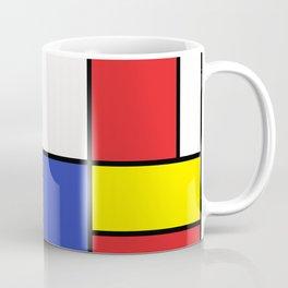 Mondrian #15 Coffee Mug