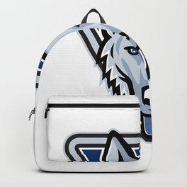 Police Dog Triangle Mascot Backpack