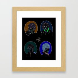 I Heart the Golden Girls Print Framed Art Print