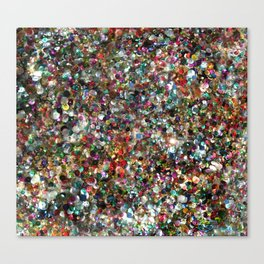 Sequin Spill Canvas Print