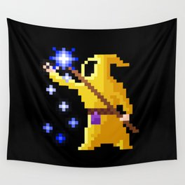 wizard yellow Wall Tapestry