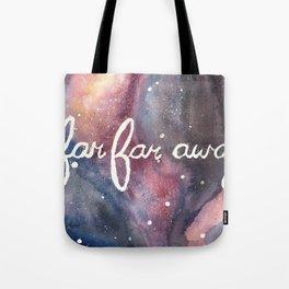 Far Far Away Tote Bag