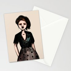 French Girl I Stationery Cards