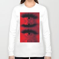 all seeing eye Long Sleeve T-shirts featuring EYE AM All Seeing by Eye Am
