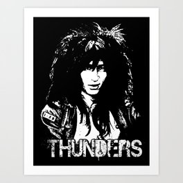 Johnny Thunders Art Print