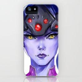 Widowmaker Digital Painting iPhone Case