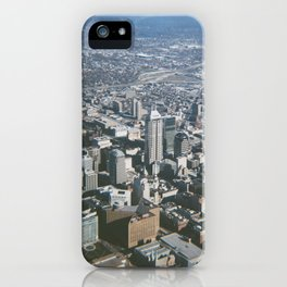 Indianapolis Skyline iPhone Case