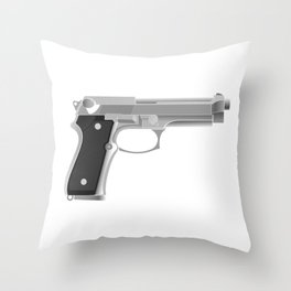 Beretta Throw Pillow